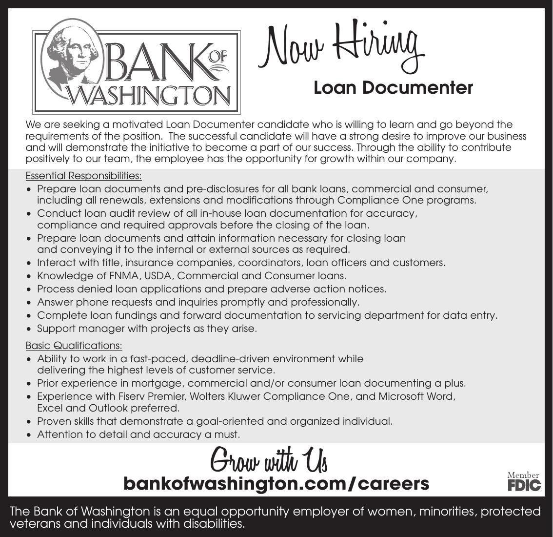 Loan Documenter