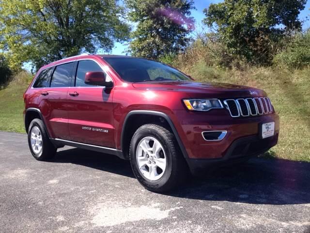 2017 Velvet Red Pear Jeep Grand Cherokee