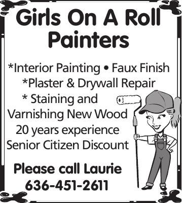 Girls On A Roll Painters