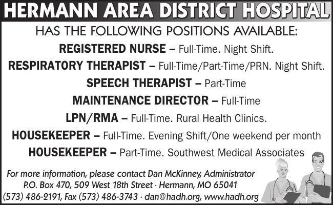 HERMANN AREA DISTRICT HOSPITAL