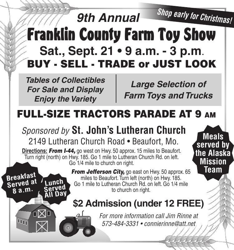 Franklin County Farm Toy Show