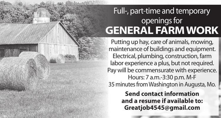 GENERAL FARM WORK