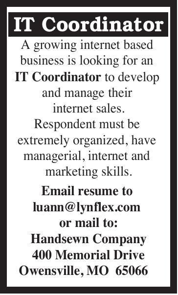 IT Coordinator