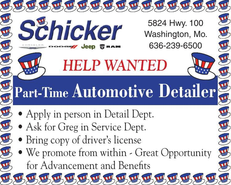 Part-Time Automotive Detailer