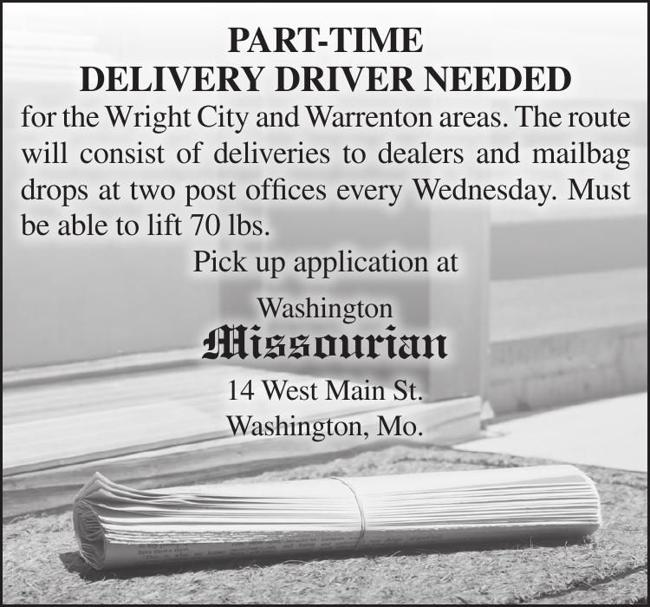 Part Time Delivery Driver