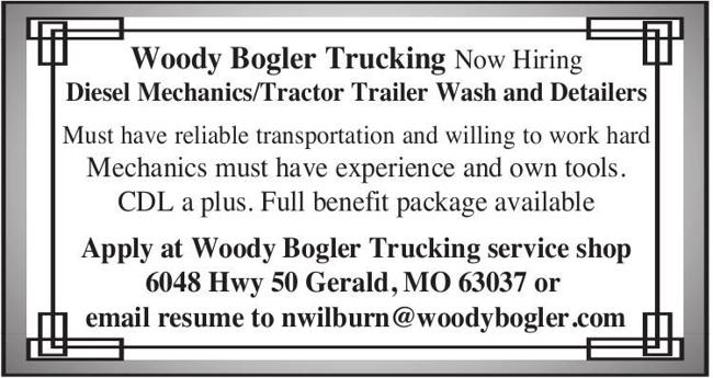 Diesel Mechanics & Tractor Trailer Wash and Detailers