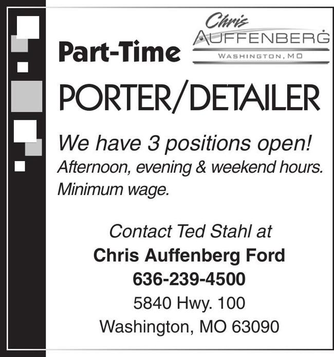 Part Time Porter/Detailer