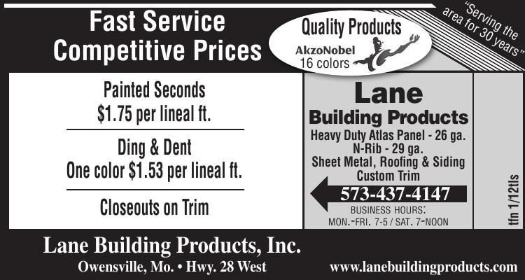 Lane Building Products