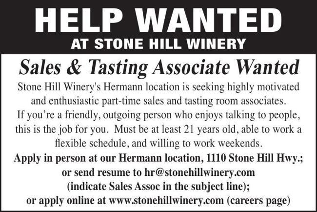 Sales & Tasting Associate