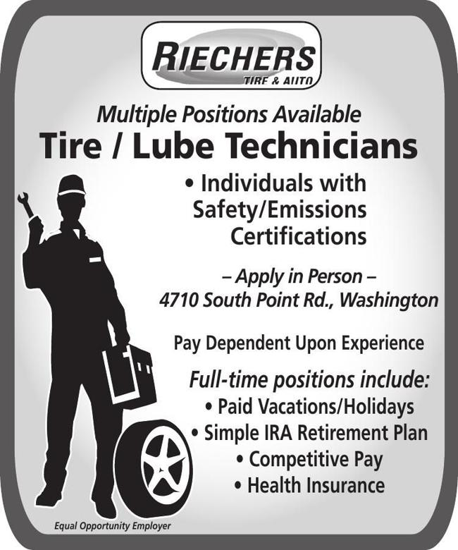 Tire & Lube Tech