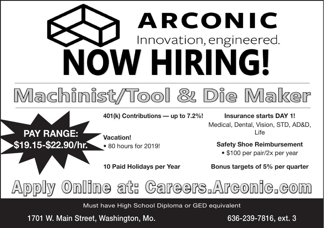 Machinist / Tool & Die Maker