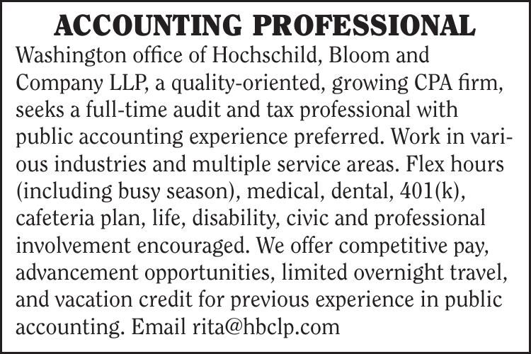 Accounting Professional