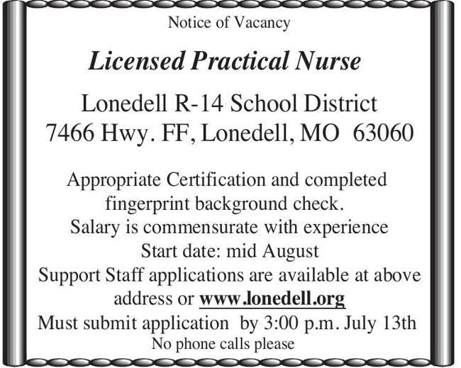 Licensed Practical Nurse