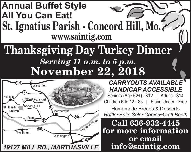 Thanksgiving Day Turkey Dinner