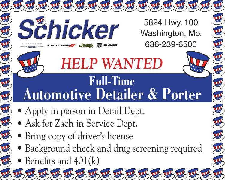 Automotive Detailer & Porter
