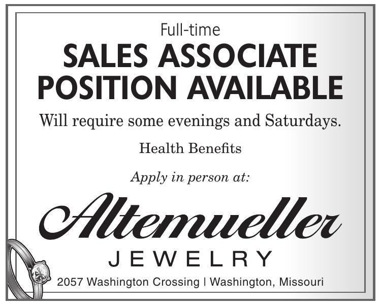 Full-time Sales Associate