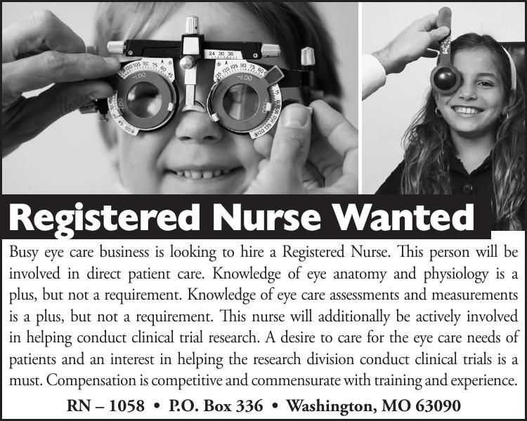 Registered Nurse Wanted