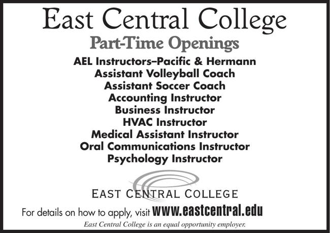 Part-time Openings