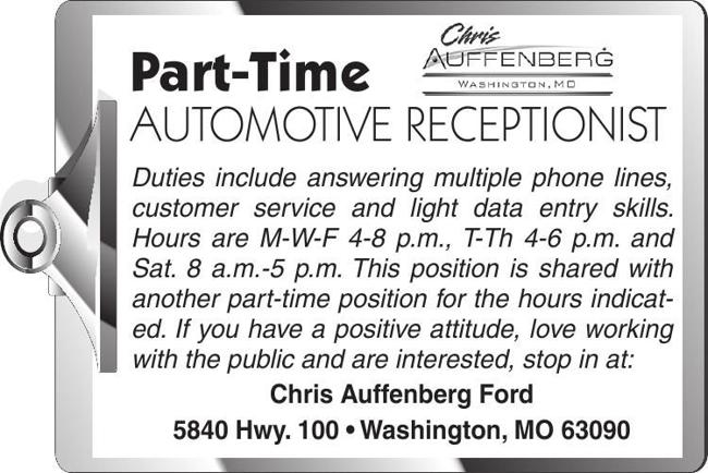 Automotive Receptionist