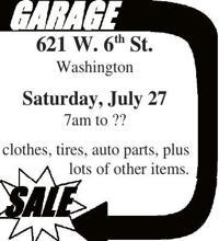 Sale Garage Yard Sales Emissourian Com
