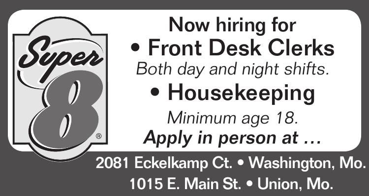 Front Desk • Housekeeping