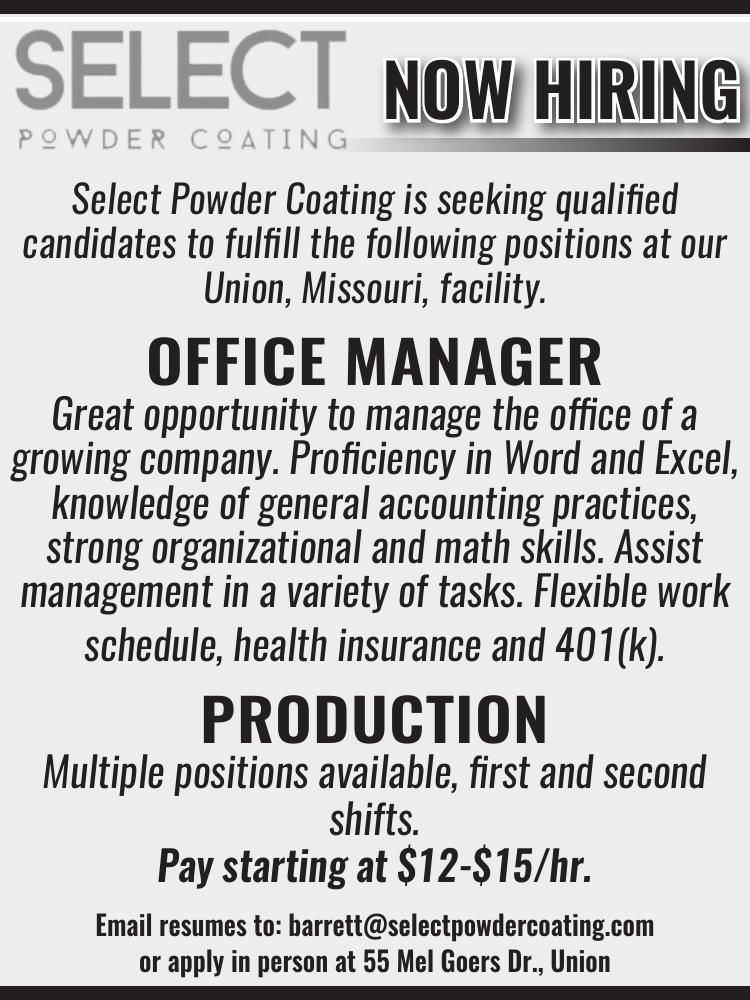 Office Manager • Production