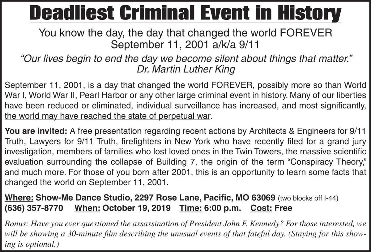Deadliest Criminal Event in History