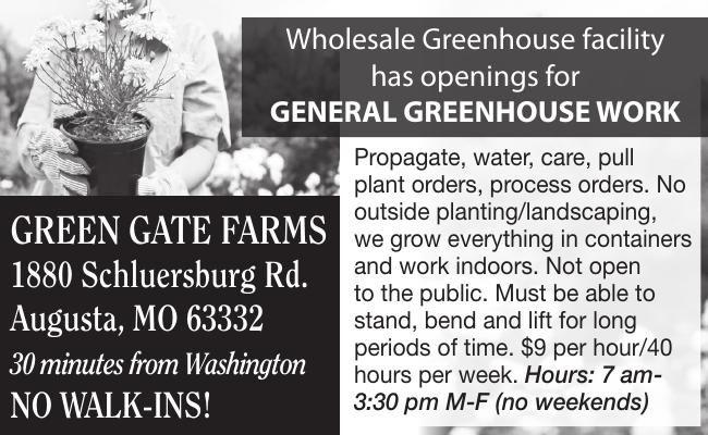Wholesale Greenhouse facility