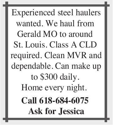 Experienced Steel Haulers