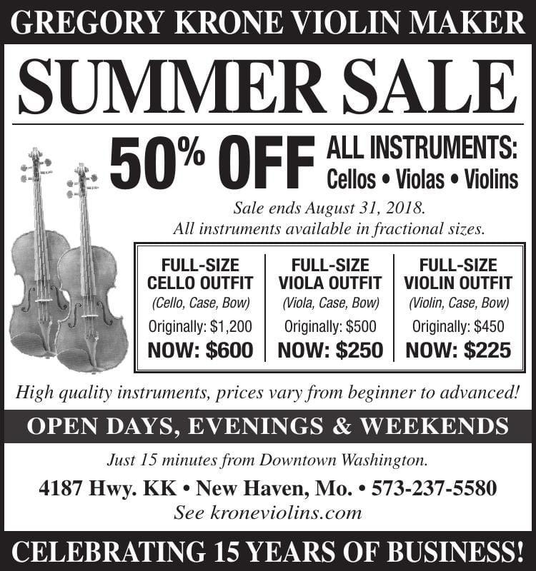 Gregory Krone Violin Maker