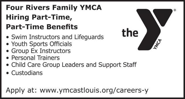Four Rivers Family YMCA Hiring Part-Time, Part-Time Benefits