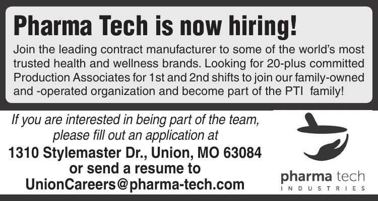 Pharma Tech is now hiring!
