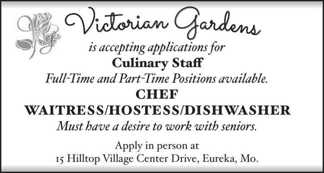 Culinary Staff Wanted
