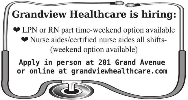 Nursing Positions Available