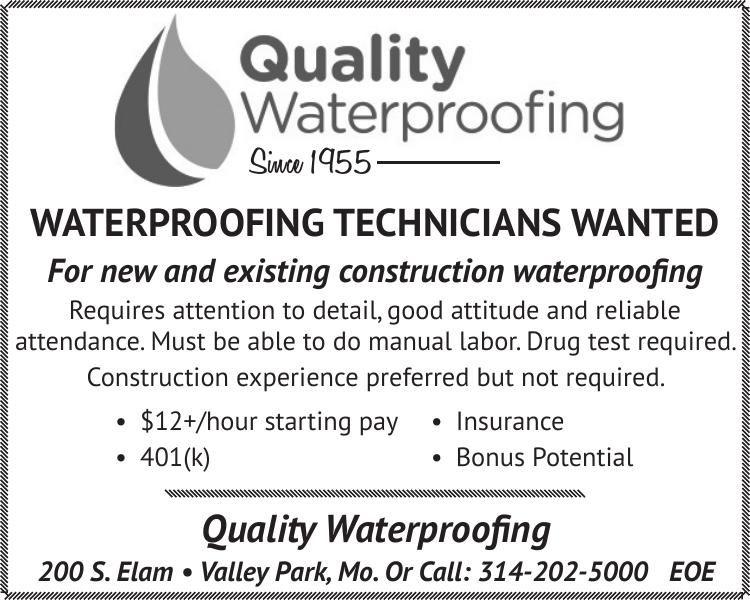 Waterproofing Technicians