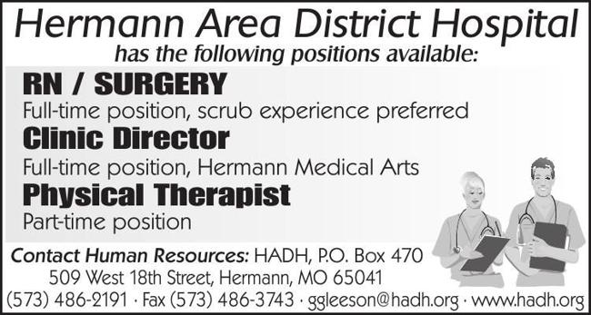 Healthcare Positions Open