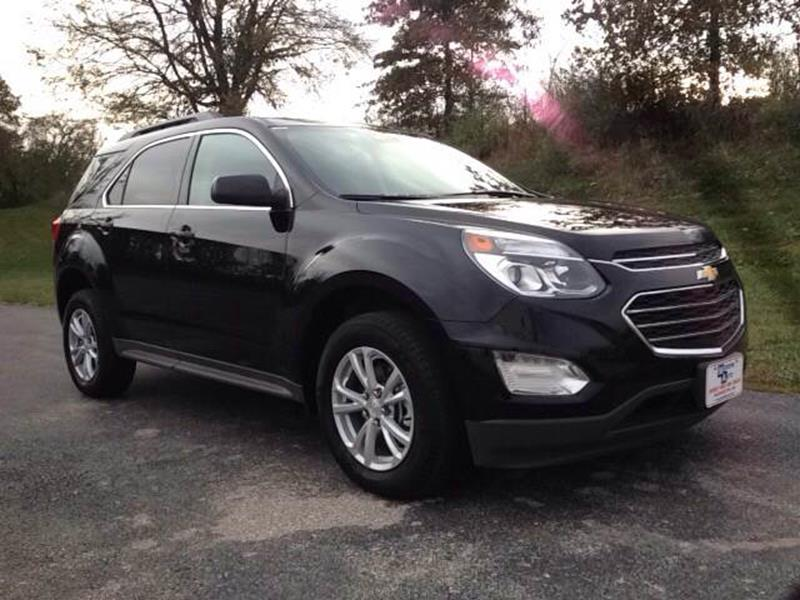 2017 Black Chevrolet Equinox