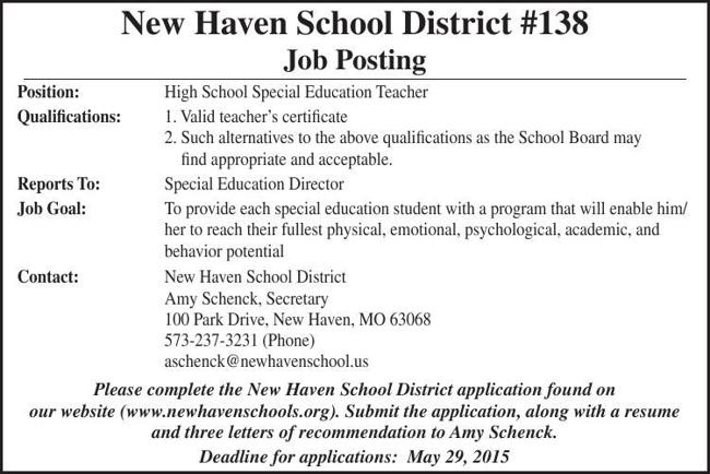 High School Special Education Teacher
