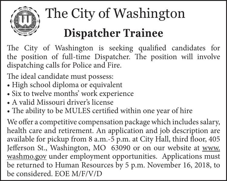 Dispatcher Trainee