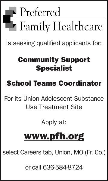 Is seeking qualified applicants for: