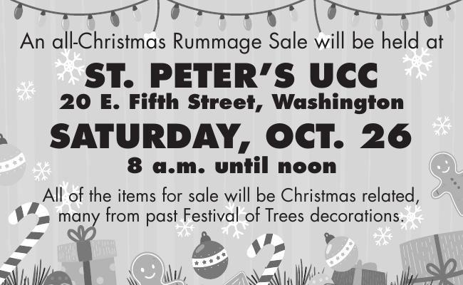 Christmas Rummage Sale