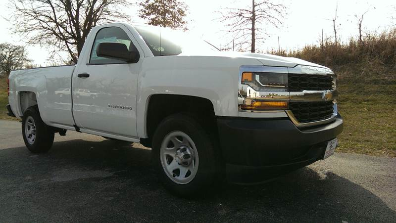 2018 Summit White Chevrolet Silverado 1500