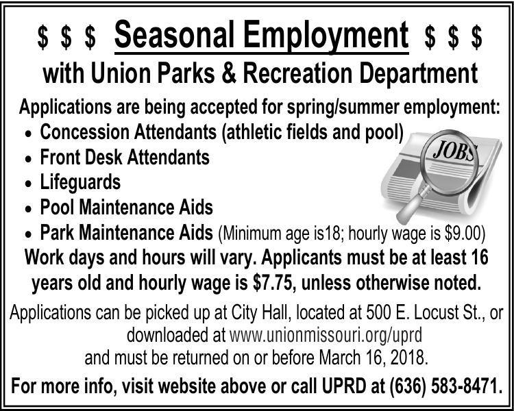 Seasonal Employment