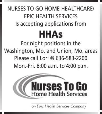 Health Care Positions Available