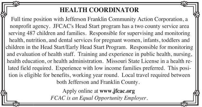Health Coordinator