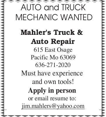 Auto & Truck Mechanic