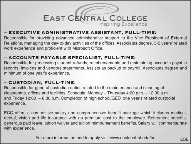 ECC Now Hiring