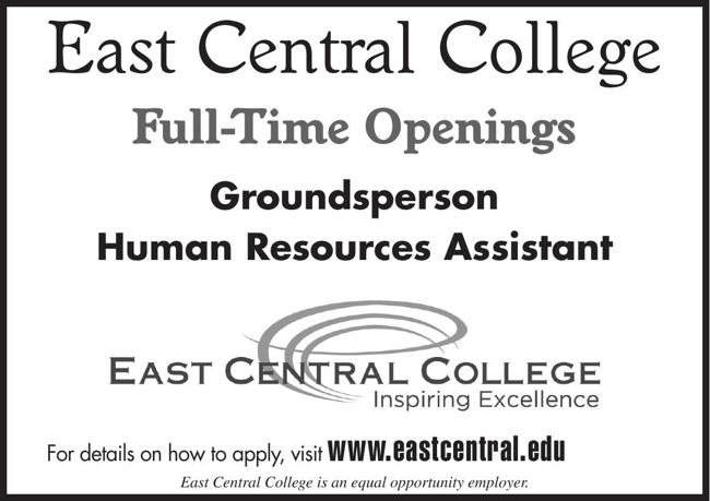 Groundsperson & Human Resources Assistant Positions