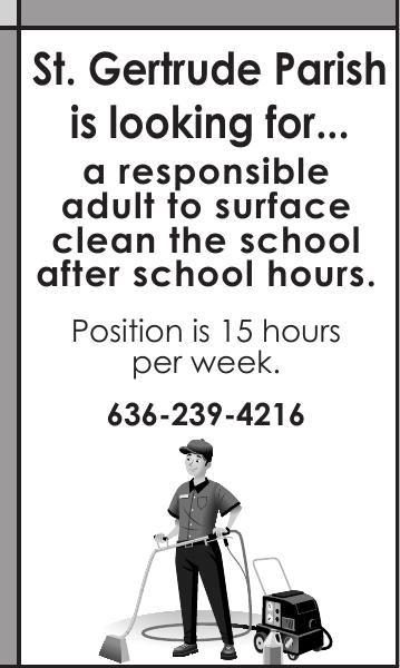 After Hours School Custodian