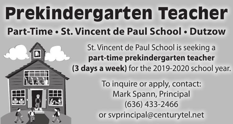 Prekindergarten Teacher